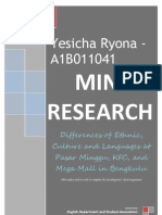 Mini Research Sociolinguistics