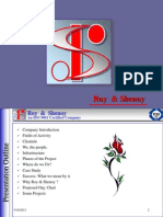 Roy&Shenoy- Company Profile