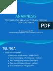 Anamnesis Tht