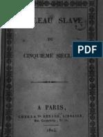1824 Zinaida Alexandrovna VOLKONSKAYA Tableau Slave du Ve Siècle
