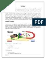 DC Motor Speed System Modeling (Final Report)