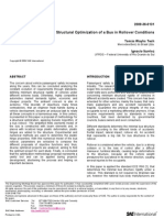 SAE_TEC Structural Optimization of a Bus in Rollover ConditionsH2009-36-0131