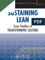 Sustaining Lean