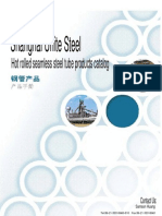 Hot Rolled Steel Tube Catalog