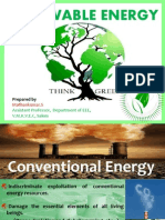 POWER GENERATION USING RENEWABLE ENERGY RESOURCES IN INDIA