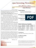 Trojan Investing Newsletter Volume 2 Issue 3