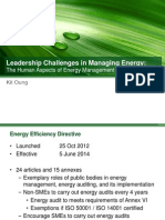 Leadership Challenges in Managing Energy - Cambridge Energy Conference Version