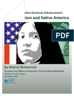 Recession and Native America