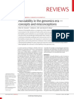 Visscher, Hill & Wray 2008 Heritability in the genomics era — concepts and misconceptions