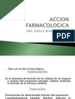 ACCION FARMACOLOGICA