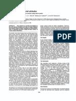 Martin Et Al 1986 Transmission of Social Attitudes