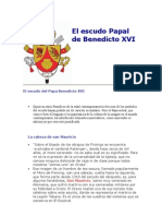 El Escudo Papal de Benedicto XVI