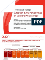 AVPN Conference Day 1 - UK and US Perspectives on VP