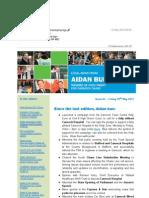News Bulletin from Aidan Burley MP #62