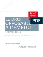 130216 Droit Opposable Emploi Complet
