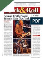 Tour Press - Derek Trucks Band - April 7