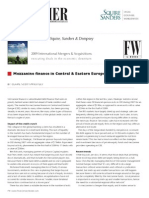 Private Equity Alert Mezzanine Finance in Central & Eastern Europe 102009