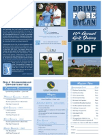 5.10.2013 2013 Drive Fore Dylan Golf Brochure