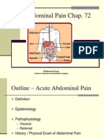 Acute Abdominal Pain by Dr.Iraqi
