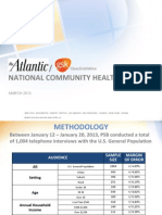 National Community Health Survey by Penn Schoen Berland
