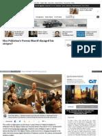 Has Pakistan's Nawaz Sharif changed his stripes? Part II