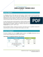 Anphabe Survey Report - Senior Employment Trends 2013