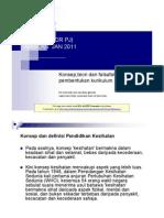 Nota Kurikulum Dan Pedagogi Pendidikan Kesihatan -1 2012