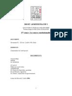 Seance 2 de Droit Administratif 2010-2011
