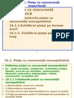 a5Cap.10.1. Piata Cu Concurenta Monopolistica