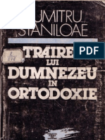 Dumitru Stăniloae - Trăirea lui Dumnezeu in Ortodoxie