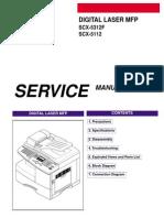 SCX5312 Service Manual