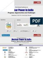 Nuclear Power in India - Sep 27-28, 2010