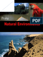 Landscapes and Biomes From Peru