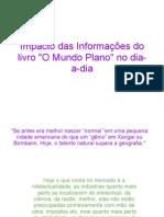 Impacto Das Informacoes Do Livro O Mundo Plan