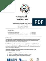 10th International Language and Development Conference