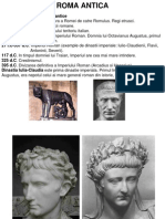 Roma Antica istoric