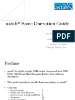 Astah Basic Operation