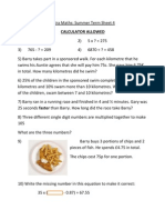 Term 3 Sheet 4