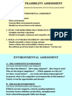 Environment Feasibility