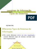 Sistemas de Informacao -Tipo de Sistemas