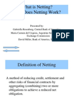 Millers Presentation on Netting