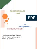 Factories Act 1947
