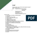 Dr. S.K. Haldar's Lectures on Industrial Health for AFIH Students - OHS Modern Concept