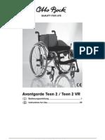 Avantgarde Teen Manual