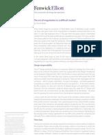 The Art of Negotiation in a Difficult Market - David Bebb.indd