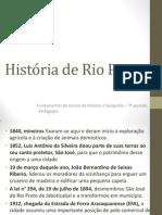 História de Rio Preto