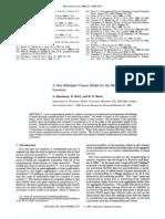 A New Multiplet-Cluster Model for the Morphology of Random