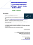 Clinical Effectiveness Bulletin no. 75 April 13