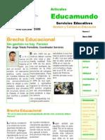 Articulo Uno Jorge Toledo, Educamundo