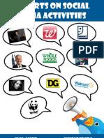 Report on Social Media Activities